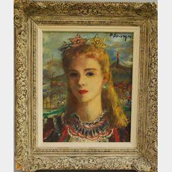Helen Alton Farnsworth Sawyer (American, 1900-1999)      Circus Girl