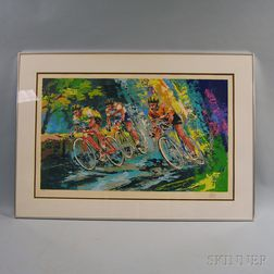 Wayland Moore (American, 20th Century)      Bicycle Race