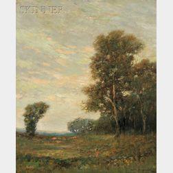Arthur Hoeber (American, 1854-1915)      The Golden Glow