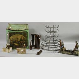 Group of Assorted Decorative Metal Items