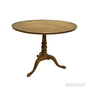 George III Mahogany Tilt-top Tea Table