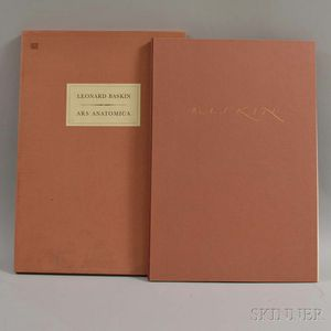 Leonard Baskin (American, 1922-2000)      Ars Anatomica  , A Medical Fantasia