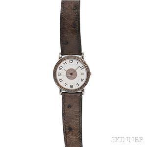 Stainless Steel Wristwatch, Hermes
