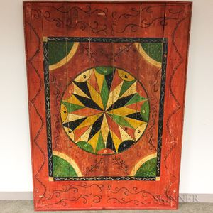 Large Polychrome Pine Game Board