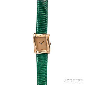 18kt Gold Wristwatch, Angela Cummings