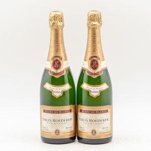 Roederer Blanc de Blancs 1996, 2 bottles