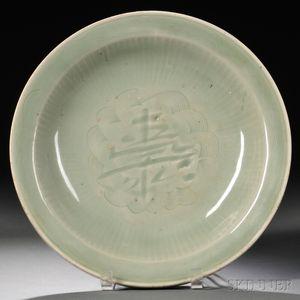 Celadon Dish