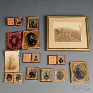Group of Civil War Images