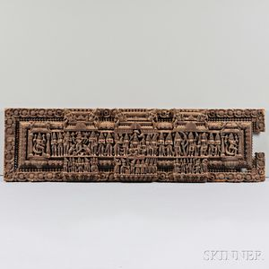 Wooden Lintel Frieze