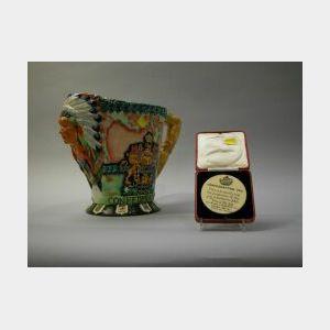 Carleton Ware Confederation of Canada Ceramic Pitcher