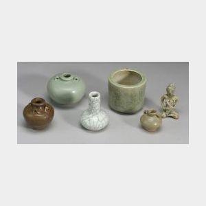 Six Celadon Items
