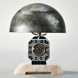 Cotna Art Deco Lamp Clock
