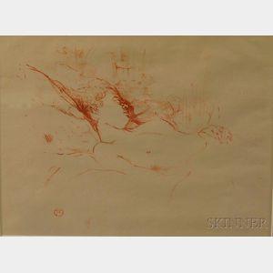 After Henri de Toulouse-Lautrec (French, 1864-1901)      Le Sommeil