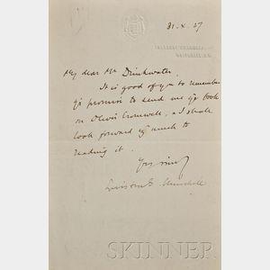 Churchill, Sir Winston L.S. (1874-1965)