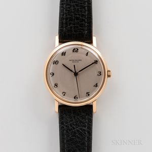 Patek Philippe & Co. 18kt Gold Reference 3423 Wristwatch