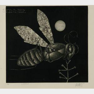 Mario Avati (French, b. 1921)    L'Abeille