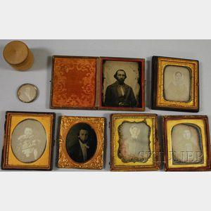 Seven Early Portrait Photographs