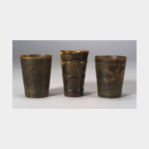 Three Horn Beakers