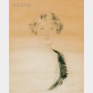Paul César Helleu (French, 1859-1927)      Femme.