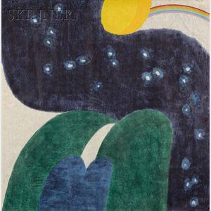 Carol Summers (American, b. 1925)      Lot of Two Works: Nightfall