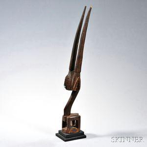Bamana Antelope Dance Headpiece