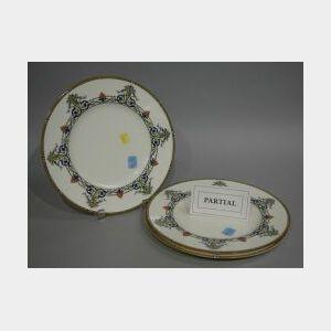 Eleven Royal Worcester Doncaster Dinner Plates