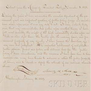 (Autograph Album), Glossbrenner, Adam John (1810-1889)