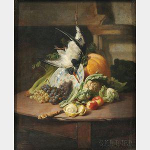 David De Noter (Belgian, 1818-1892)      A Kitchen Still Life
