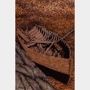 John Verling (Irish, 1943-2009)      Vessel Ruined