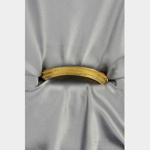 """18kt Gold """"Caviar"""" Bracelet, Kieselstein-Cord"""