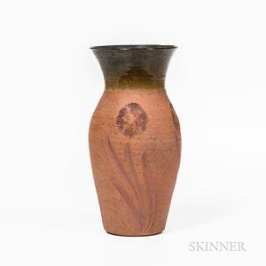 Studio Pottery Floral Vase
