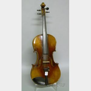 Modern German Violin, F. W. Nurnberger, c. 1925
