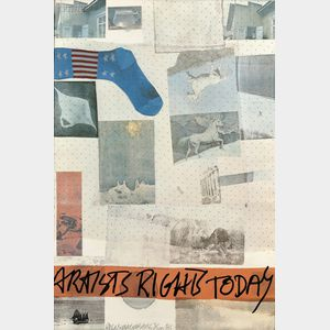Robert Rauschenberg (American, 1925-2008)      Artist's Rights Today