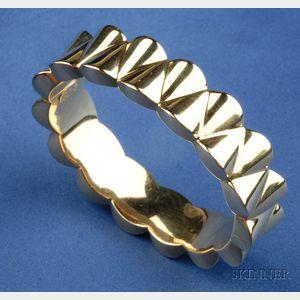 18kt Gold Bracelet, Chiampesan