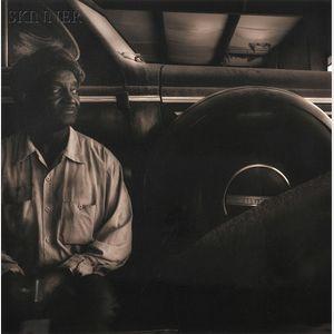 Jack Spencer (American, b. 1951)      M.L. & Mr. Henry's Buick, Batesville, MS