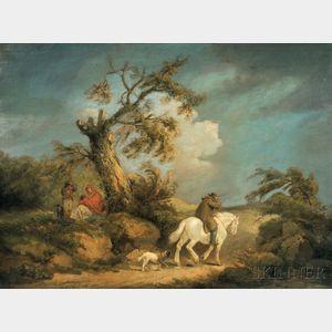 George Morland (British, 1763-1804)      The Storm