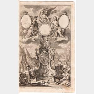 Wilhelm, Ignaz Franz von (fl. circa 1731) Annus Politicus per Duodecim Discursus  , Author's Presentation Copy.
