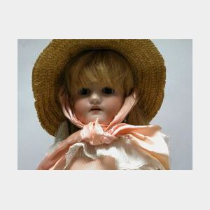 Heinrich Handwerck Bisque Socket Head Doll