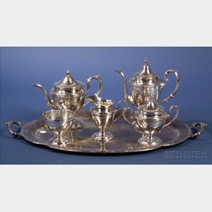 Five Piece American Sterling Tea and Coffee Service