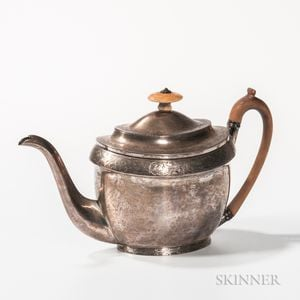 George III Sterling Silver Teapot