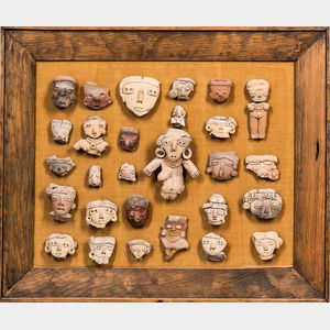 Collection of Pre-Columbian Terra-cotta Fragments