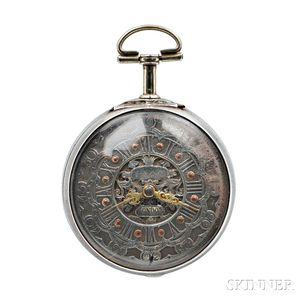 May Silver Verge Watch