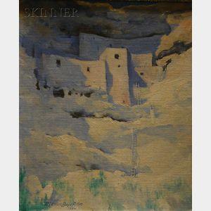 Marion Boyd Allen (American, 1862-1941)      Montezuma Castle