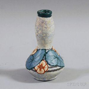 Louis Dage Art Deco Ceramic Vase