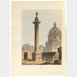 Dubourg, Matthew (fl. 1808-1838) Views of the Remains of Ancient Buildings in Rome and its Vicinity.
