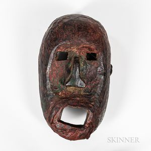 Large Himalayan Mask