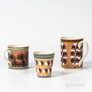 Three Slip-decorated Wares