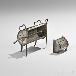 Tin Roaster Oven and Miniature Roaster Oven