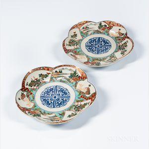 Pair of Imari Dishes