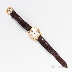 Franck Muller 18kt Gold Cintree Curvex Reference 7500 SC Jump Hour Wristwatch